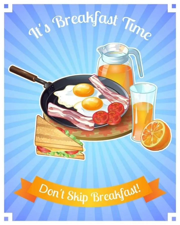Have your breakfast In time to boost immune system