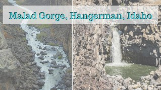 Malad Gorge, Hangerman, Idaho
