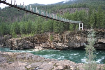 Swinging Bridge Libby Montana