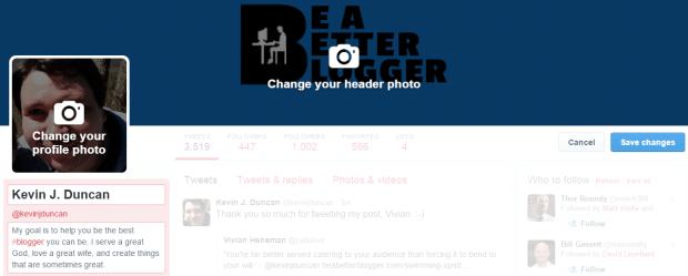 Aggiornare la tua biografia su Twitter per includere un link alla tua landing page è facile