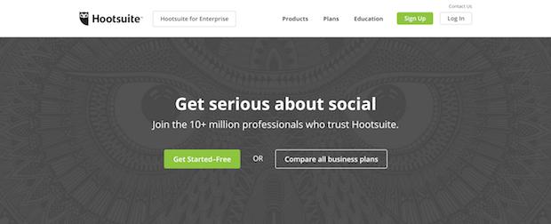 herramientas de marketing en redes sociales gratis - hootsuite