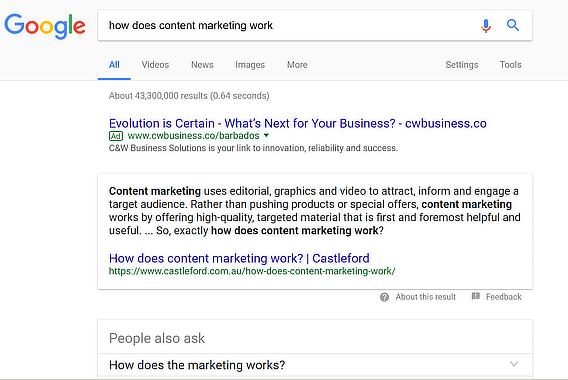AnswerthePublic google search