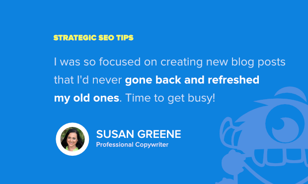 seo tips susan greene