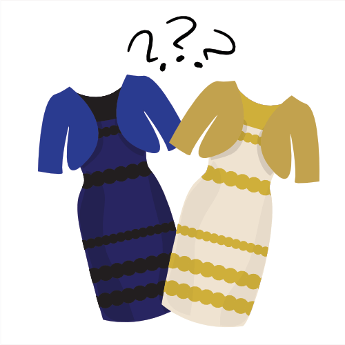 is the dress white and gold or blue and black?
