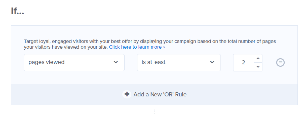 display-rules-pages-viewed