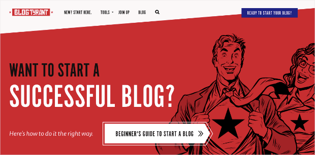 Blog Tyrant Homepage