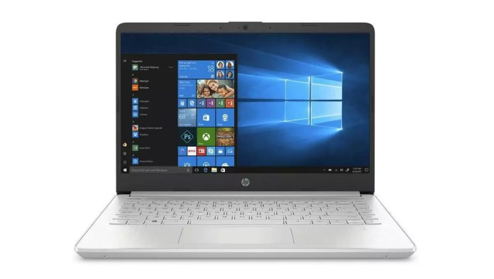 HP 14s-fq0059nf Argent