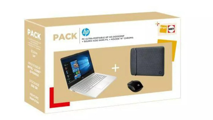 HP 14s-dq1009nf Argent