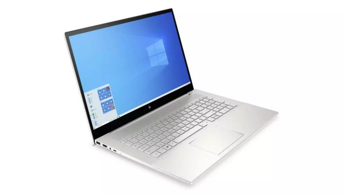 HP Envy 17-cg0028nf Argent -