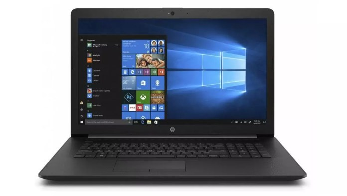 HP 17-by3001nf Noir - CD/DVD
