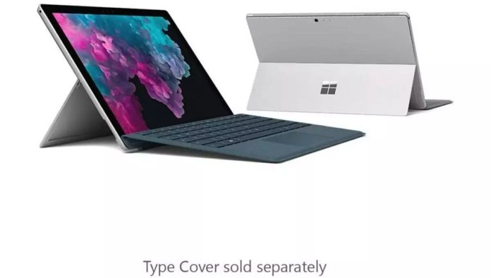 Microsoft Surface pro 6 Intel Core i5