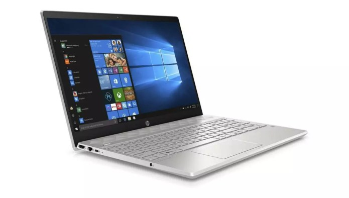 A laptop more particularly at ease for web browsing :  Pavilion 15-cw1028nf Argent – – Ryzen 5 3500U – HP