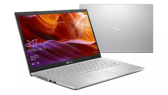 The laptop for travellers:  S409JA-EK025T Argent – Core i5-1035G1 from Asus