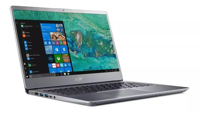The laptop for traveling :  Swift 3 SF314-58-733Y Argent – Core i7-10510U from Acer