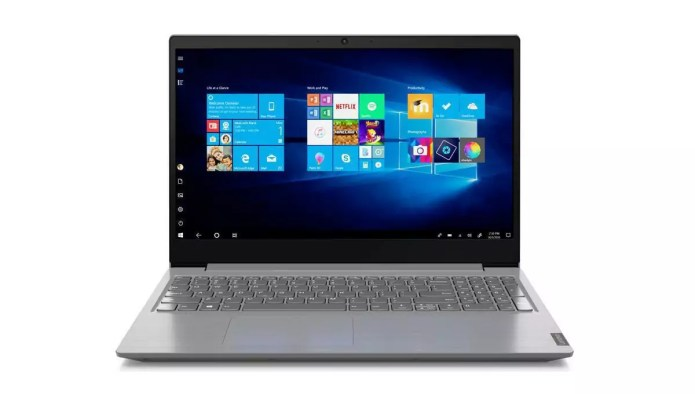 A laptop made for audio video editing: Lenovo  V15-IIL (82C500HGFR) Argent – – Core i5-1035G1