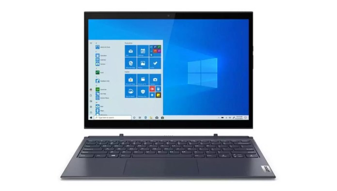 The efficient tool when travelling:  Yoga Duet 7 13IML05 – Core i5-10210U from Lenovo