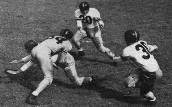Option Football History: Split-T Ball Handling