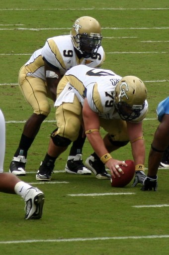 GT Flexbone Offensive Line by HectorAlejandro