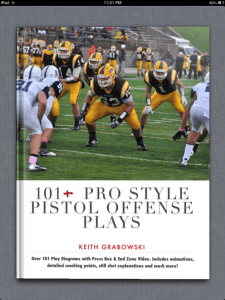 101 Pro Style Pistol Offense Book Cover