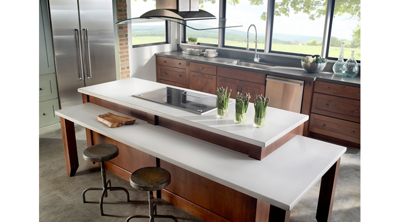 kitchen and bathroom countertops and sinks
