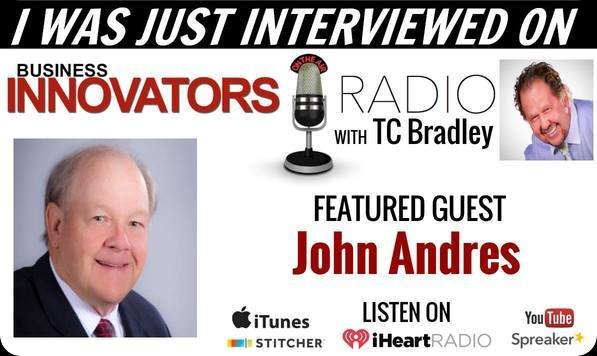 John Andres Interviewed by Business Innovators