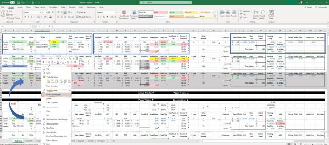 Custom Options Watchlist using Thinkorswim in Excel