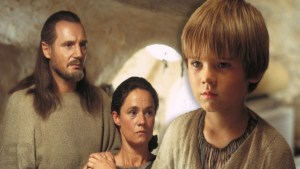 Star Wars Qui-Gon and Ani
