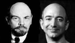 Lenin and Bezos