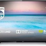 Philips 70PUS6504/12 70-Inch 4K UHD Smart TV with HDR 10+, Dolby Vision, Dolby Atmos, Smart TV - Black (2019/2020 Model) [Energy Class A+]