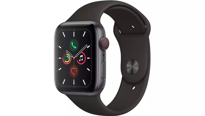 Apple Series 5 (GPS + Cellular, 44mm)