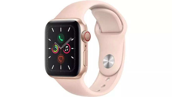 Analysis and handling of the Series 5 (GPS + Cellular, 40 mm) from Apple.