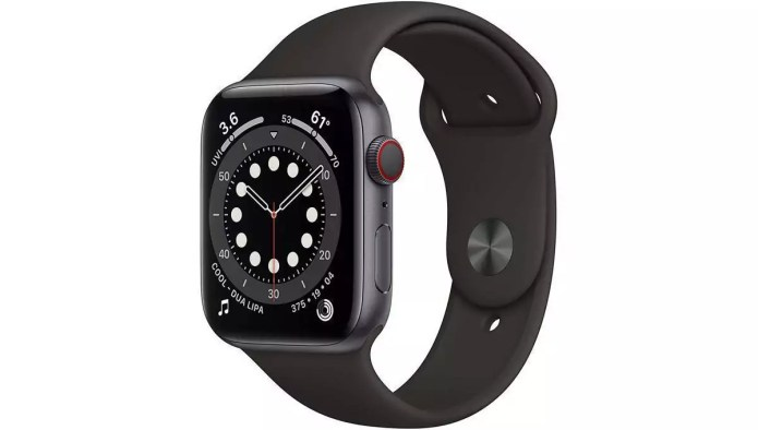Analysis and handling of the Watch Series 6 (GPS + Cellular, 44 mm) from Apple.