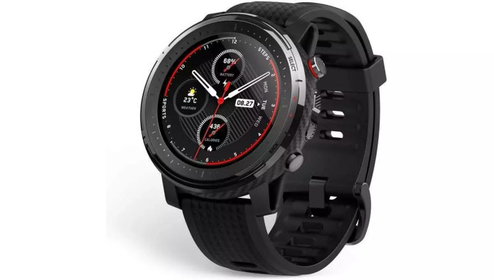 Analysis and handling of the stratos 3 from Amazfit.