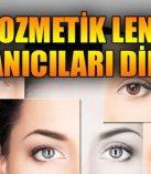 Kozmetik lensler göz için tehlikeli!