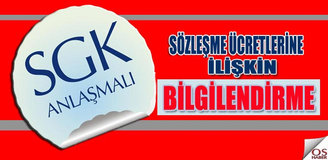 SGK Sözleşme Ücretleri