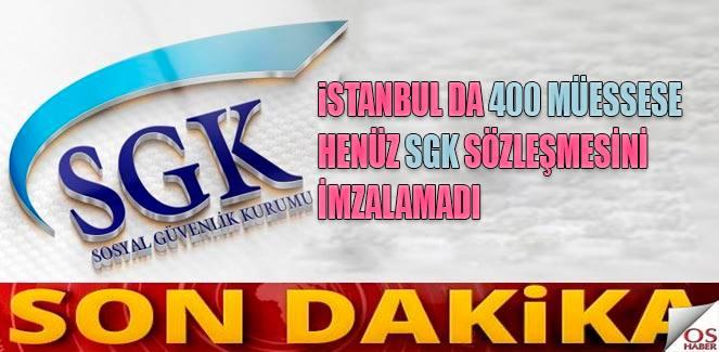 SGK Sözleşmesi için son tarih 25 Ocak