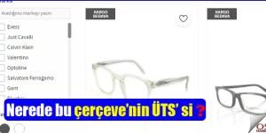 Şimdi de İmaj Gözlüğü diyerek satıyorlar!