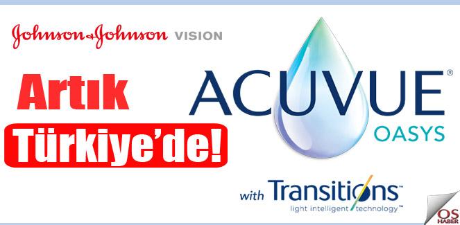 Acuvue Oasys Transitions lensleri artık Türkiye'de!