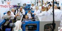 Rusya'nın önde gelen zincir mağazaları Mercan Optik'i ziyaret etti