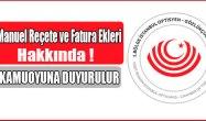 İstanbul Optisyen ve Gözlükçüler Odası duyuru