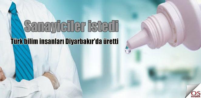 Diyarbakır'da yerli kontaktlens solüsyonu ürettiler