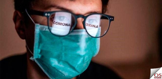 Gözlük takanlarda Korona virüs daha az görünüyor!