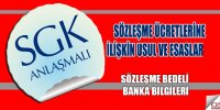SGK Sözleşme Ücreti Ödeme İşlemleri