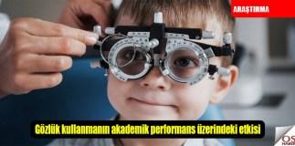 Gözlük başarıyı arttırıyor