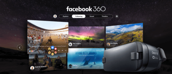 Facebook 360 The First VR Application