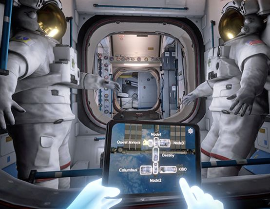 Mission ISS Oculus Launched Space VR Game
