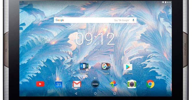 Acer Iconia Tab 10 A3-A50 - screen tablet Quantum Dot (Computex 2017)