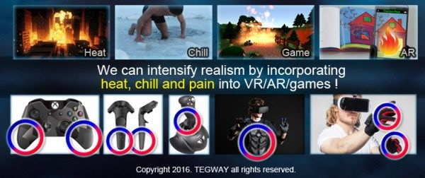 ThermoReal Makes You Feel Physical Pain, 4 to 40 Degree Heat for Virtual Reality Environment