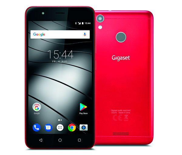 Gigaset GS270, limited edition of the mobile in red for Valentine