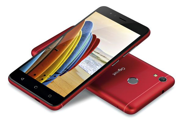 launch Gigaset GS270 in red color